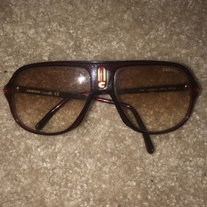 Carreras Red Brown tint Sunglasses